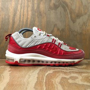 Nike Air Max 98 Athletic Sneakers 'University Red'